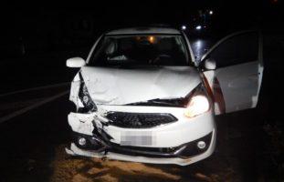 Heftiger Unfall zwischen zwei Autos in Schlattingen