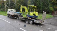 Däniken SO - Auto gerät auf Gegenspur und verunfallt