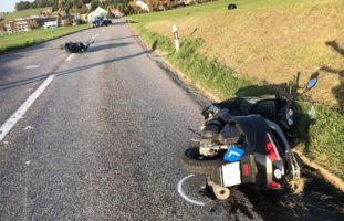 Ursy FR: Fahrschüler bauen heftigen Unfall