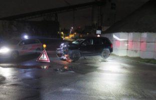 Heftiger Verkehrsunfall in Allschwil