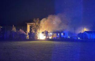 Pratteln: Dachstock in Brand geraten