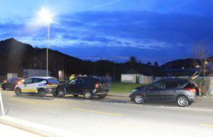 Appenzell: Auffahrunfall zwischen drei Autos