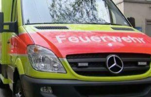 Basel-Stadt BS - Parkierter Lieferwagen in Brand geraten