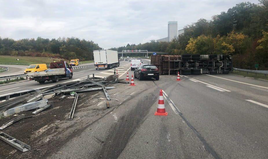 Lastwagen-Unfall in Bern