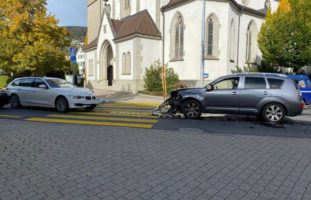 Oberägeri ZG - Verkehrsunfall wegen Marienkäfer!
