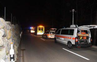 Totalschaden nach heftigem Selbstunfall in Mühlrüti (SG)
