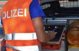 Verkehrsunfall in Seewen SZ