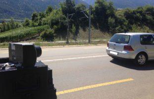 Raser im Wallis aus dem Verkehr gezogen