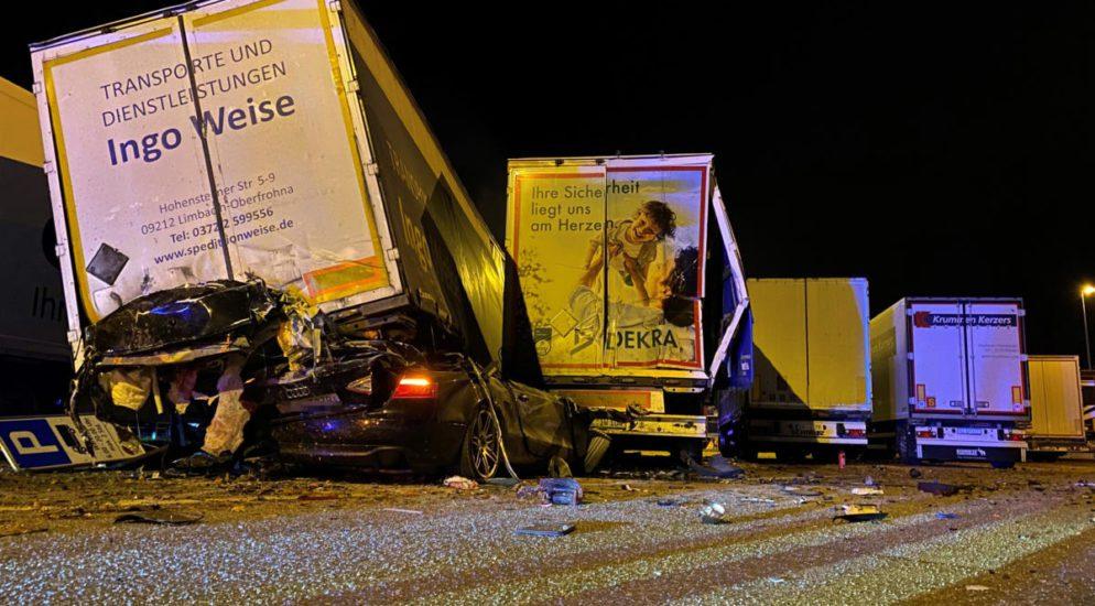 Tödlicher Unfall auf der A1-Raststätte