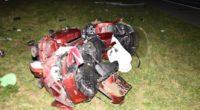 A1 Oensingen: Lenker verletzt sich bei Unfall