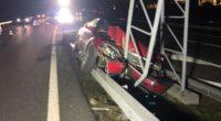 Selbstunfall auf der A13 in Chur
