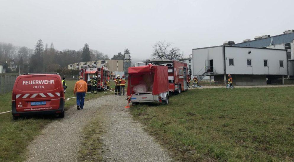 Rickenbach AG: Chemieunfall in Industriebetrieb