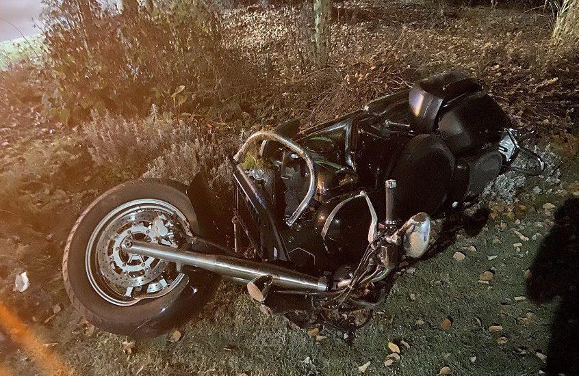 Motorradlenker nach Verkehrsunfall in Mariahilf schwer verletzt
