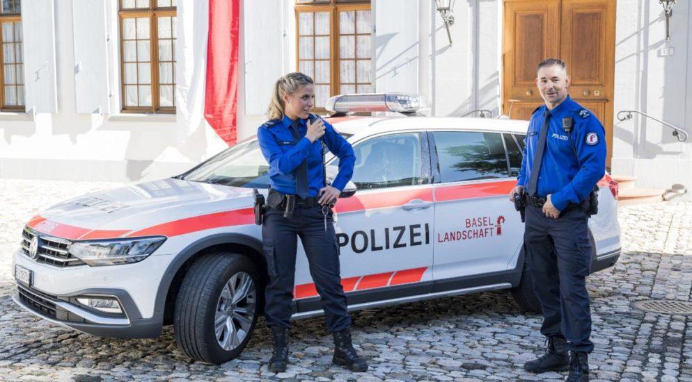 Liestal BL - Polizei mit neuem Erscheinungsbild