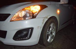 Streifkollision in Wald AR zwischen zwei Autos