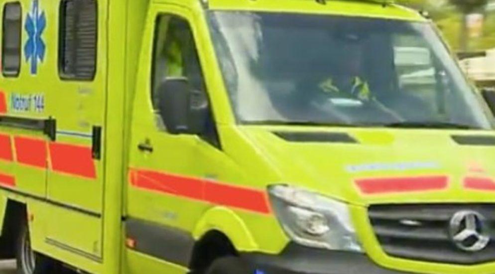 Crash zwischen vier Fahrzeugen in Luzern