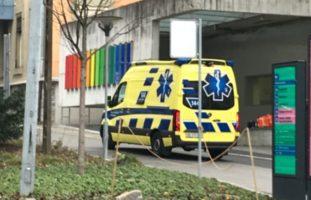 Unfall auf dem Parkplatz vom Schulhaus Widmermatte