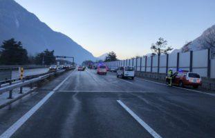 St-Maurice: Tödlicher Verkehrsunfall auf der A9