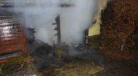 Brand in Arnegg SG - Aufmerksame Anwohnerin verständigt Rettungskräfte
