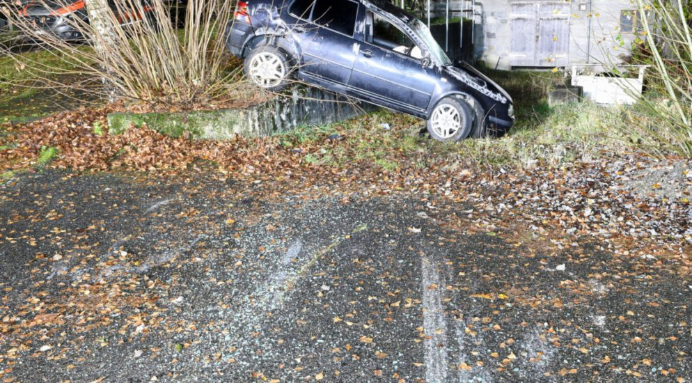 Heftiger Crash in Grosswangen LU