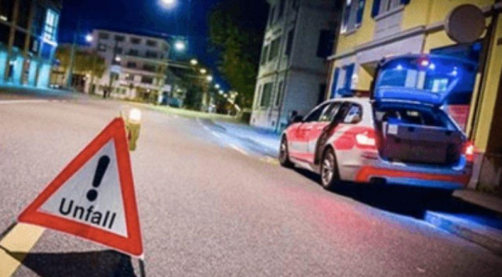 19-jähriger Rollerfahrer mit 1,24 Promille in Hüttlingen verunfallt