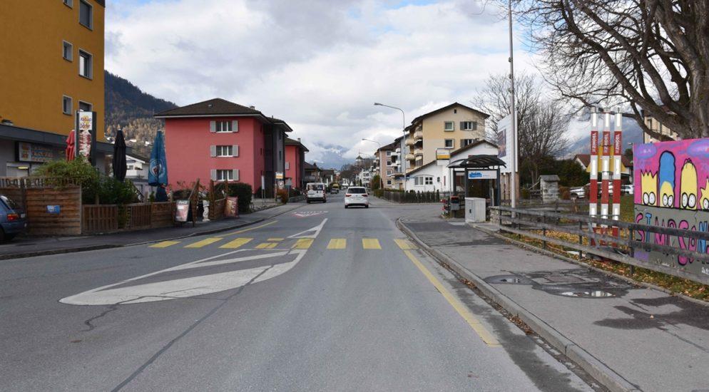 Frau bei Verkehrsunfall in Landquart verletzt