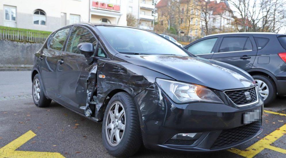 Verkehrsunfälle in der Stadt St.Gallen