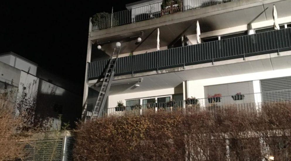 Wohnungsbrand in Näfels GL