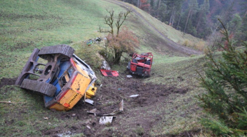 Tödlicher Arbeitsunfall in Flüelen UR