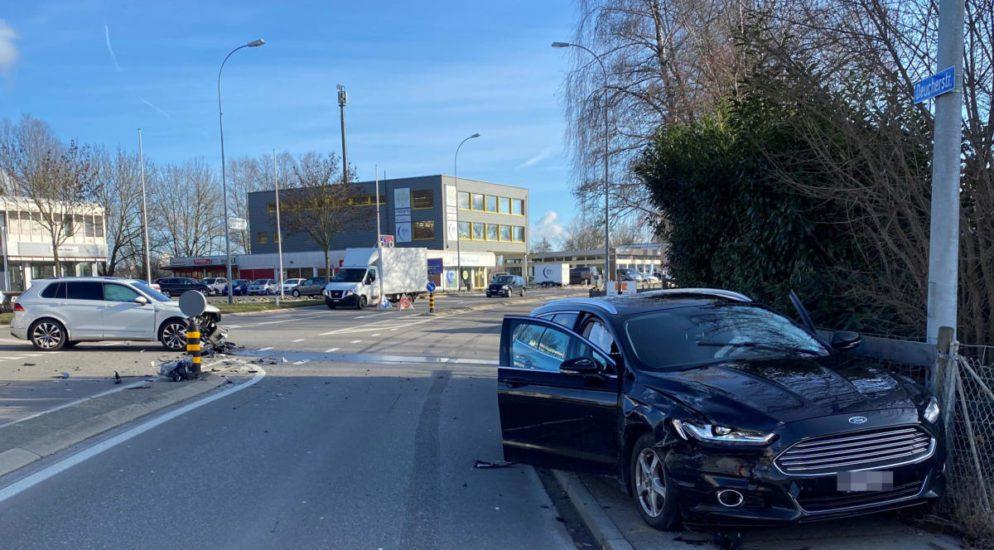 13-jährige Mitfahrerin nach Unfall in Weinfelden im Spital