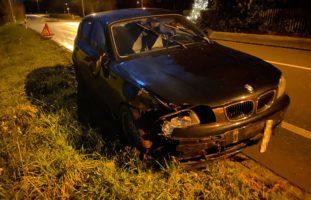 Altnau TG - Autofahrer (36) stark betrunken mit Verkehrsinsel kollidiert