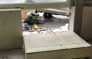 Malans GR - Arbeiter unter 500 Kilo Beton eingeklemmt