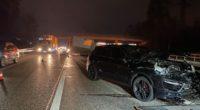 Autobahn A1 bei Derendingen: Unfall führt zu massivem Stau
