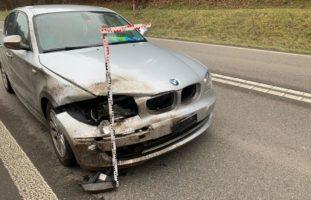 Schaffhausen: Wildunfall auf der A4