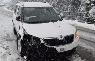 Autounfall in Rehetobel AR