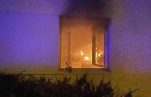 Küchenbrand in Arlesheim