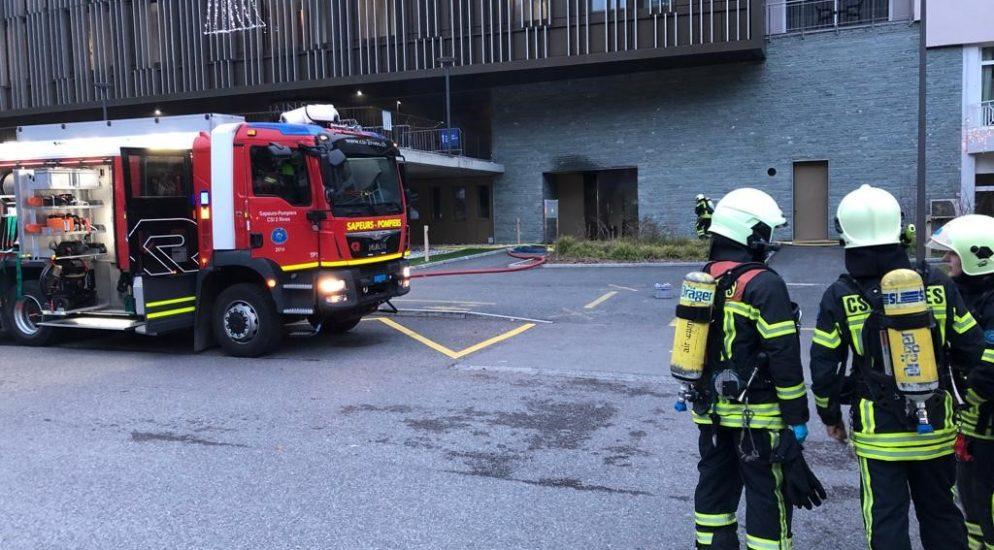 Brandausbruch in technischem Lokal der Thermalbäder von Saillon