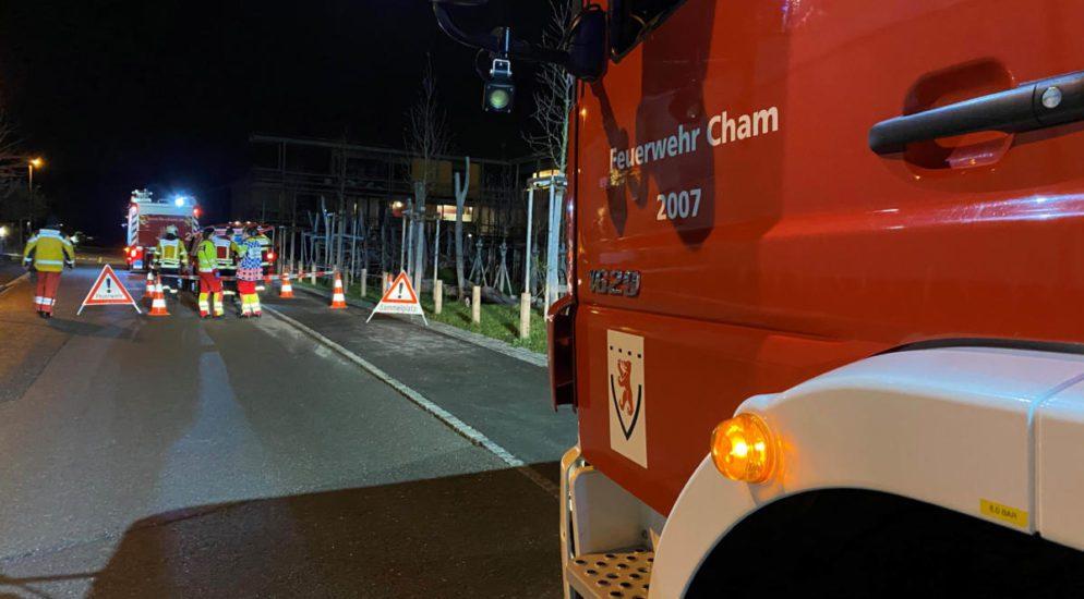 Cham ZG - Küchenbrand in Reiheneinfamilienhaus