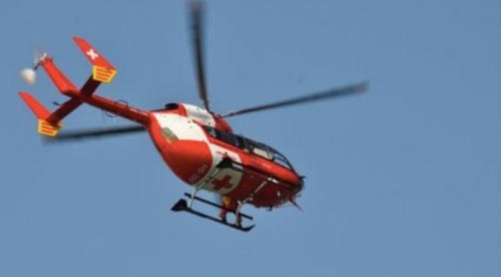 14-Jähriger nach Verkehrsunfall mit Rega in Spital geflogen