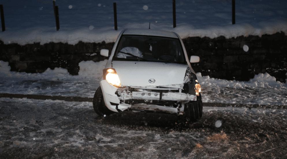 Gontenbad: Totalschaden nach Verkehrsunfall