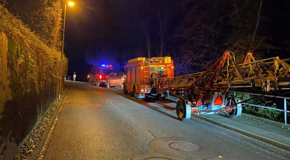 Kanton Zug: Brand in Walchwiler Bauernhaus
