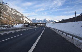 Trimmis GR - Wild West auf der Autobahn A13