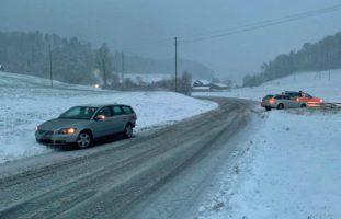 Mehrere Verkehrsunfälle im Kanton Luzern