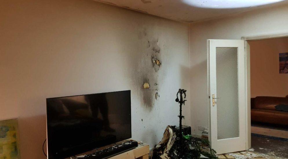 Brand im 7. Stock eines Wohnhauses in Freiburg