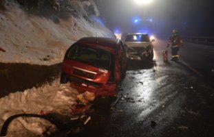 Unfall in Engelberg OW mit drei Verletzten