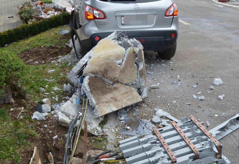 Stromausfall nach Unfall in Nuglar-St. Pantaleon