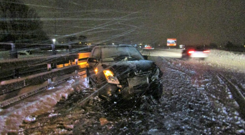 Unfall Niederurnen: Verkehrsunfall auf der A3