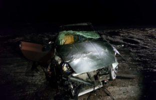 Matran FR - Fahrer bei Verkehrsunfall aus Auto geschleudert