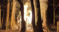 Spielplatz in Brand