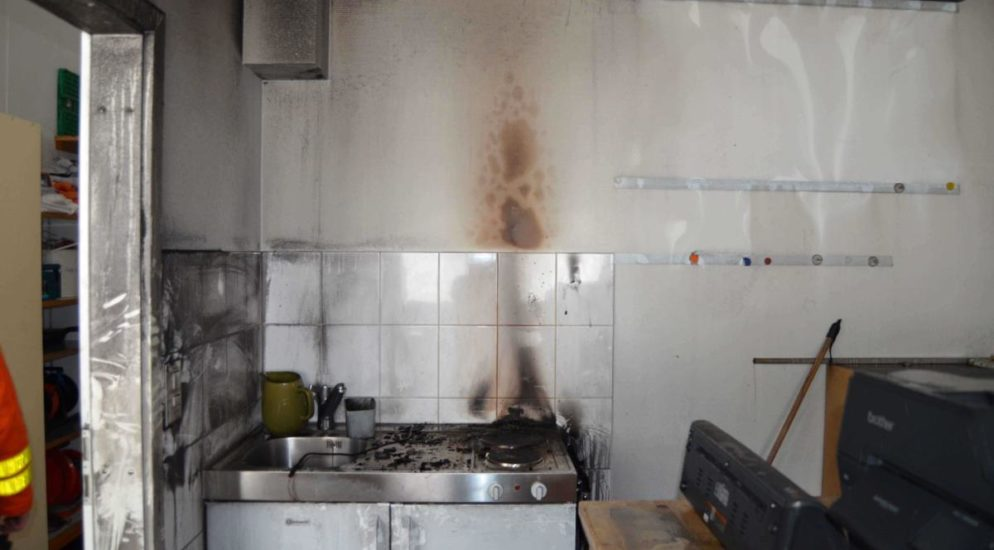 Gais: Kaffeemaschine in Brand geraten